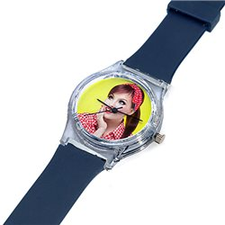 Reloj de pulsera en plástico con esfera personalizada