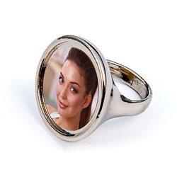 Anillo aluminio personalizado con foto
