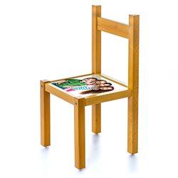Silla infantil con asiento personalizado