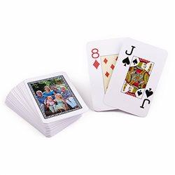 Baraja Poker con cartas personalizadas por cara trasera