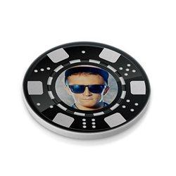 Ficha de póker 43 mm personalizada por las 2 caras