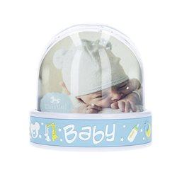 Bola de nieve bebé con motivos infantiles y fotos personalizadas