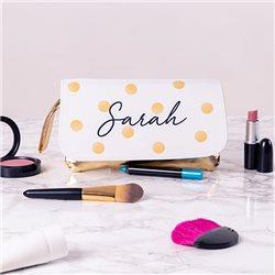Neceser de cosmético con solapa personalizada