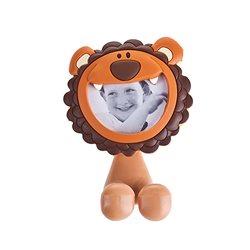 Porta cepillos de dientes infantil en forma de león con ventosa