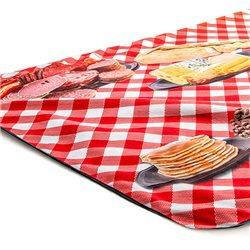 Manta picnic personalizada con parte inferior impermeable