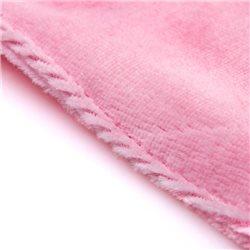 Doudou Caballo rosa con nombre bordado personalizado
