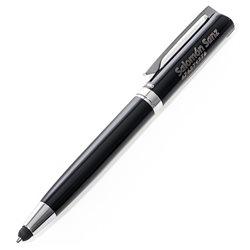 Bolígrafo puntero con grabado personalizado en plástico y metal