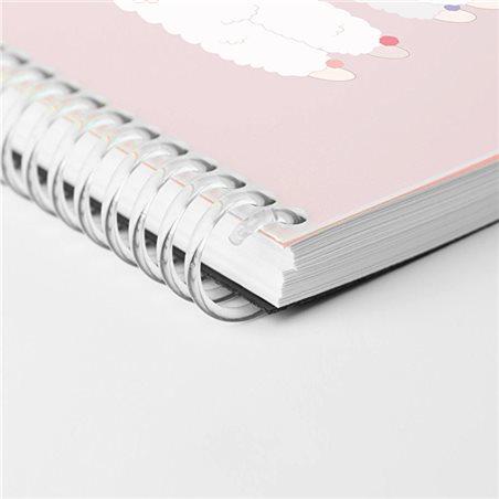 Estuche polipiel de cierre magnético con bolígrafo y lápiz portaminas