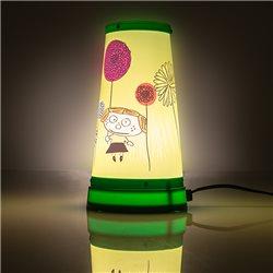 Lámpara infantil de noche con pantalla personalizada