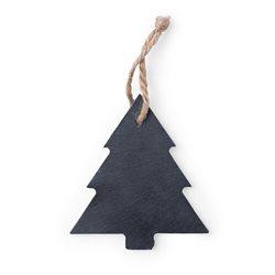 Árbol de navidad en pizarra para detalle o colgar