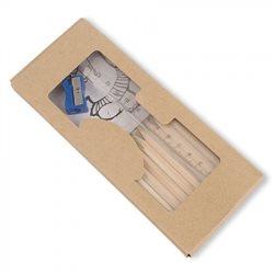 Set lapices+libro pintura+accesorios