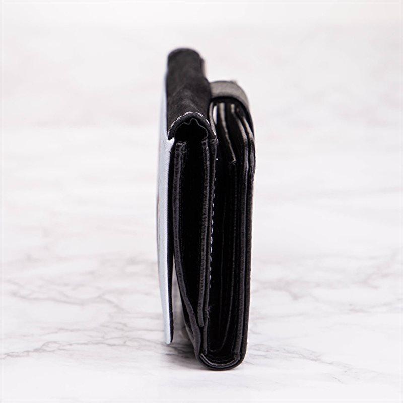 Cartera o bolsa bandolera urbana en nylon y piel tonos negros