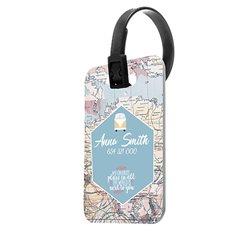 Etiqueta para maleta personalizada a todo color
