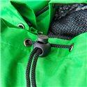 Maletín para portátil con cinta bandolera y bolsillo frontal de cremallera en color negro