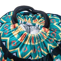 Mochila de cuerdas con impresión total a todo color